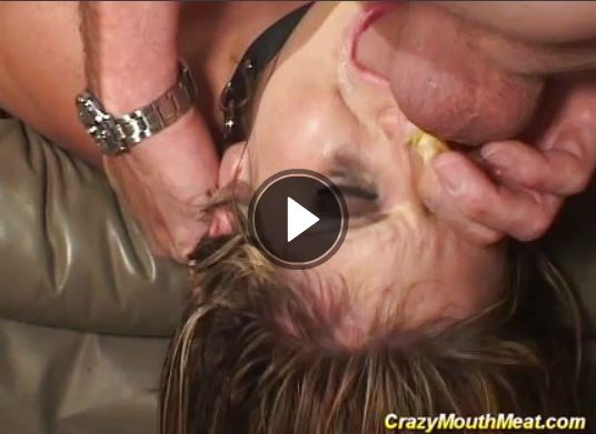 Harter Mundfick iim Fetisch Porno